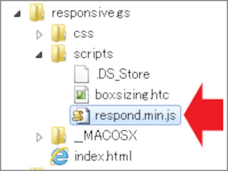 IE8以下でもレスポンシブ・ウェブデザインを使いたいなら「respond.min.js」もアップロード