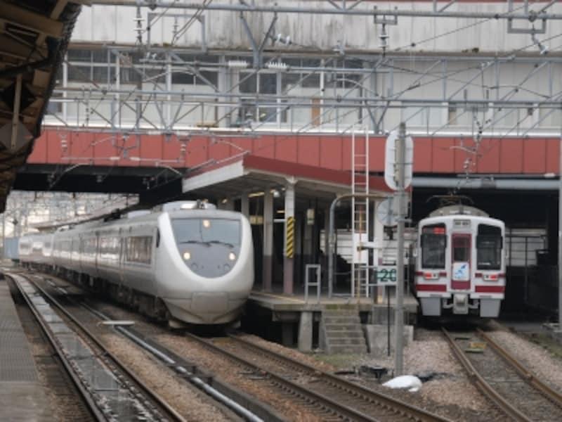 越後湯沢駅のはくたか