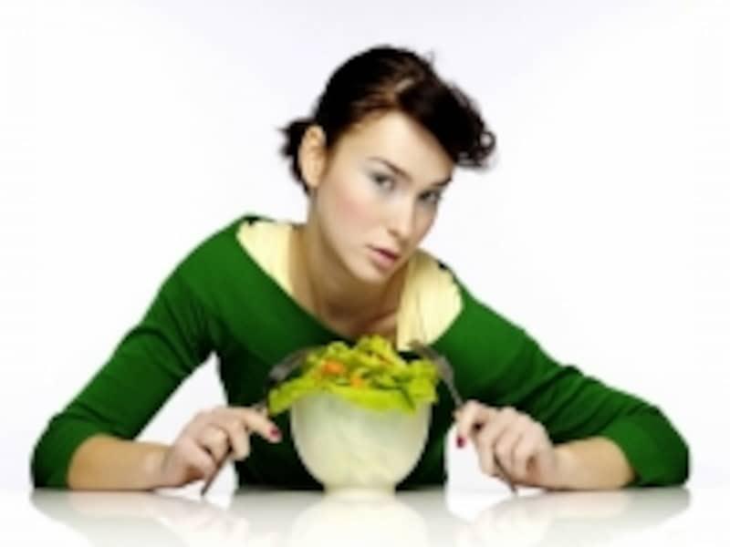 野菜中心の食生活は体が軽くなる!