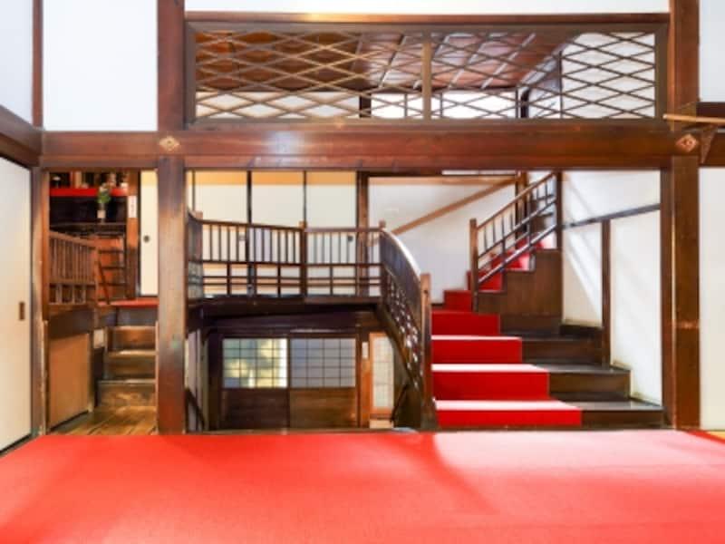 本堂の階段群@忍者寺(妙立寺)