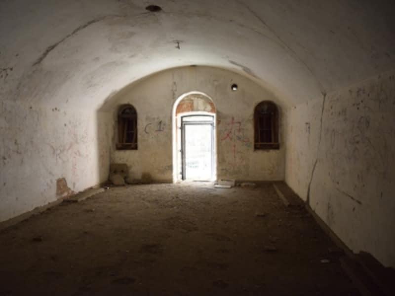要塞の兵舎内部