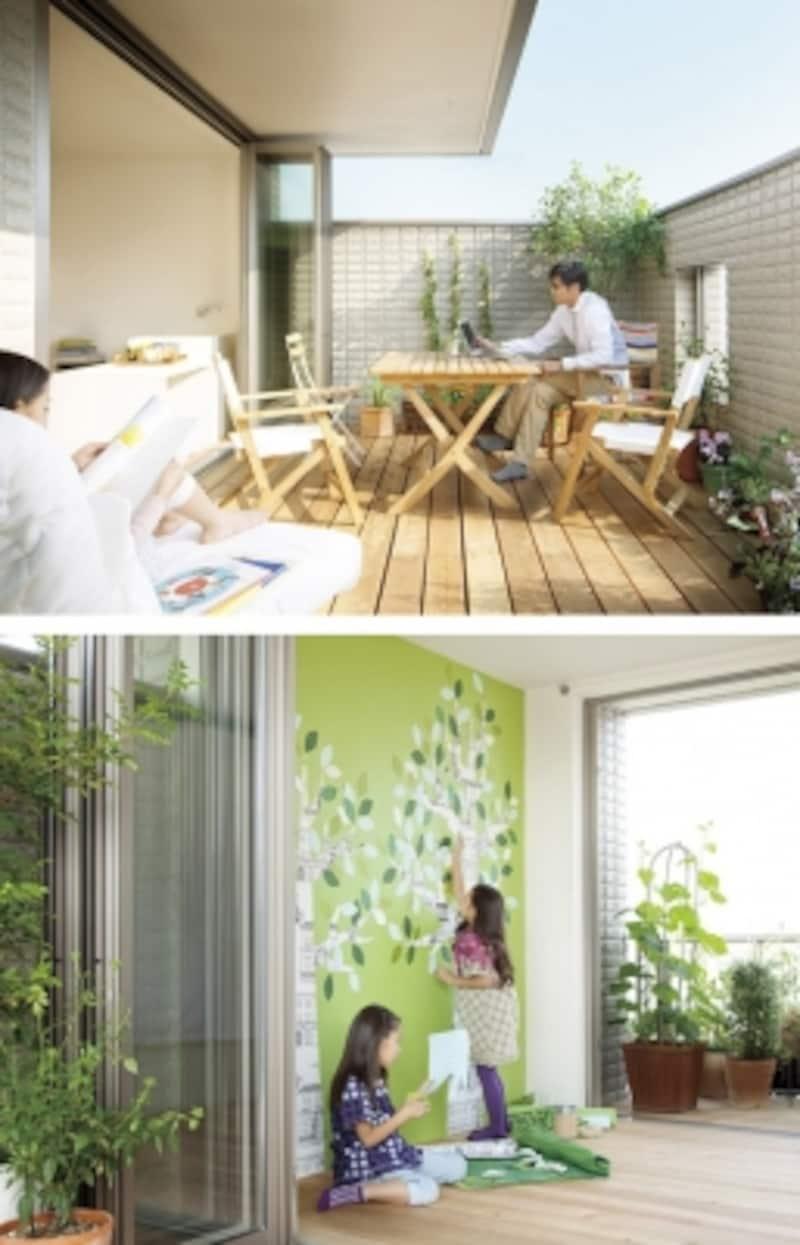 LDKや個室などとは違って、プラスアルファの空間をつくることで、暮らしに想像以上の豊かさが生まれることがあります