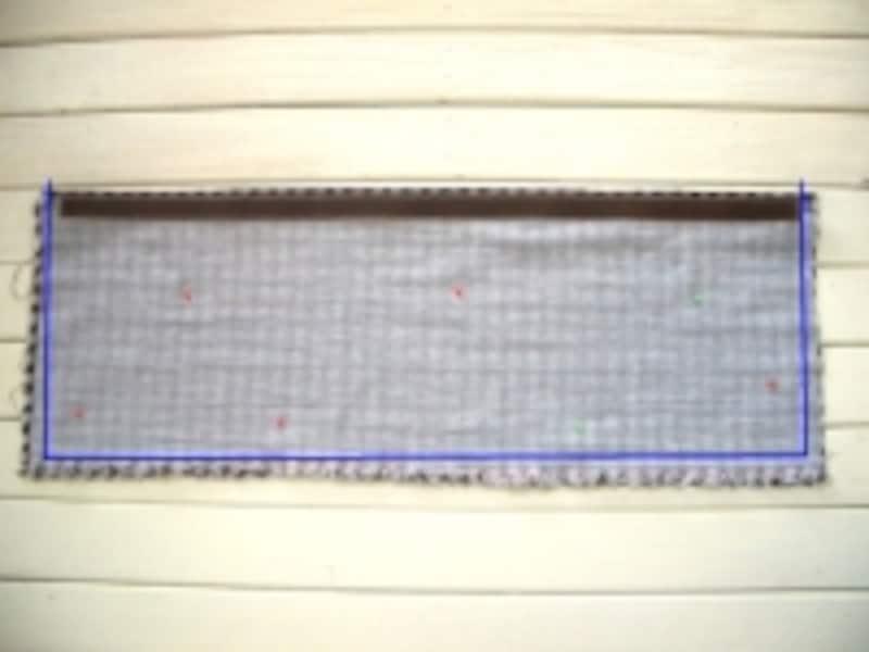 中表で縫う
