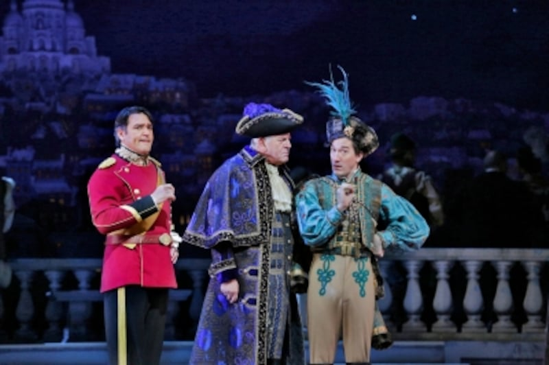 『メリー・ウィドウ』(C)KenHoward/MetropolitanOpera