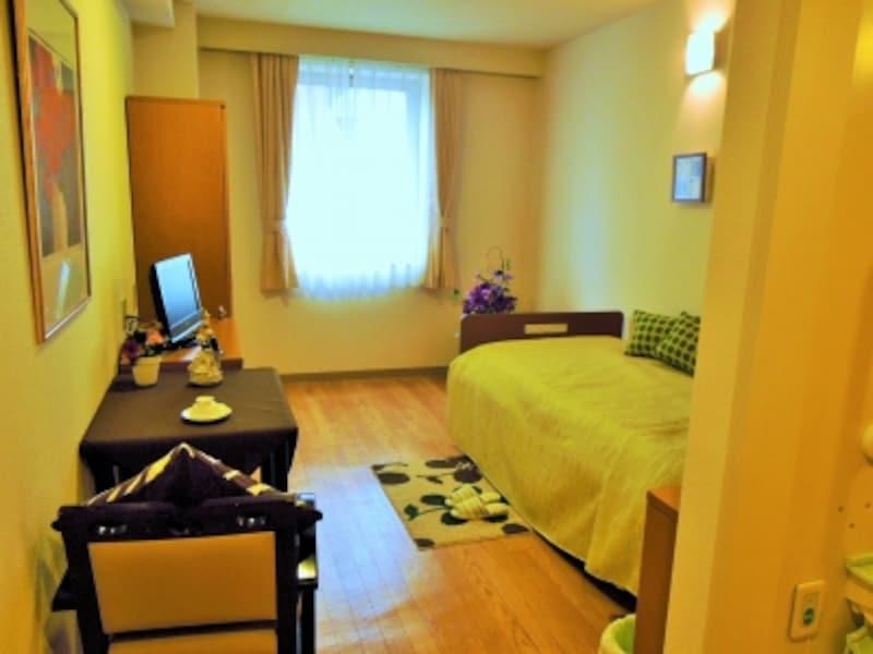 モデルルームの個室写真