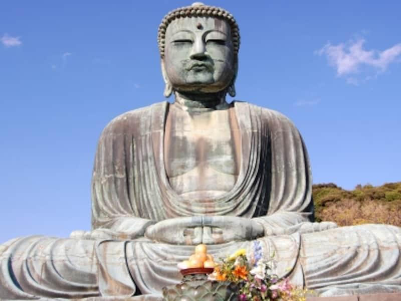 「長谷の大仏」とも呼ばれる鎌倉大仏
