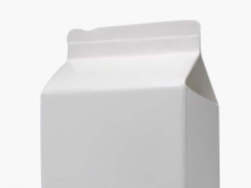 牛乳パックの切り欠き