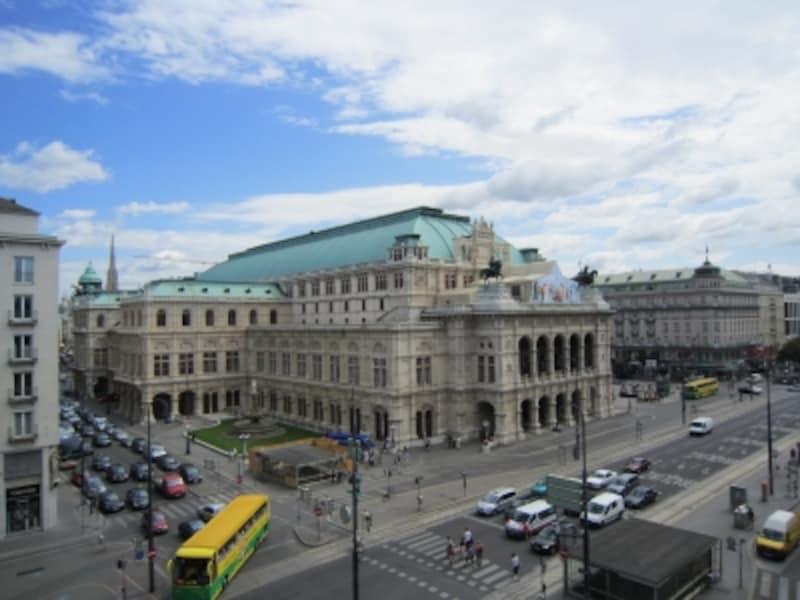 オペラ座の俯瞰図