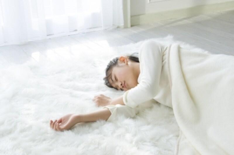 羽毛布団と毛布の順番