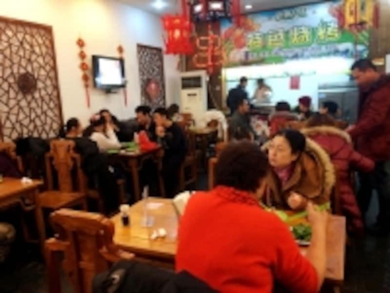 北京九門小吃「店内」