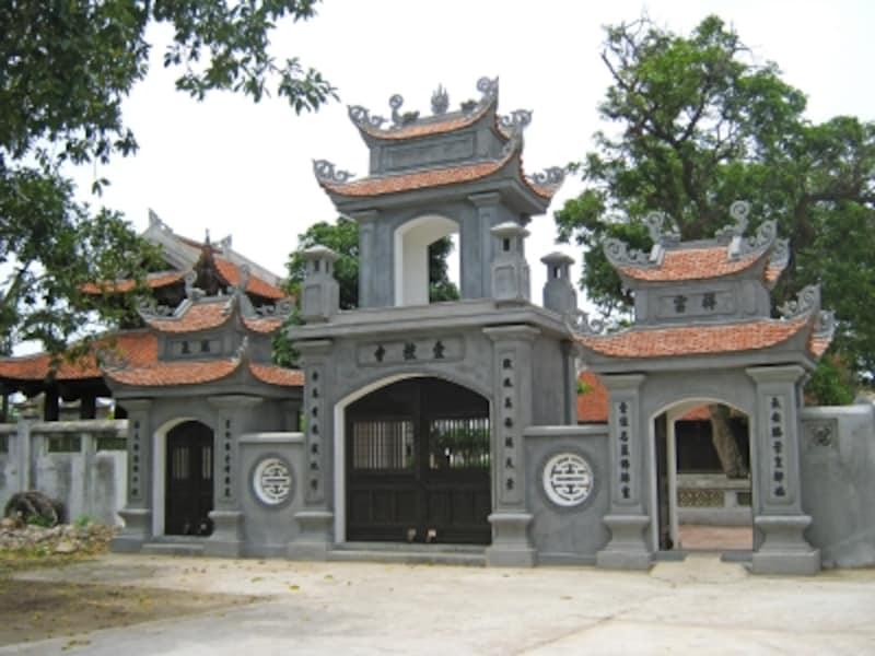 レ・ダイ・ハンが建立したニャッチュ寺