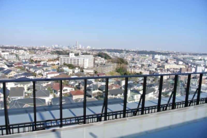 スカイラウンジからの眺望