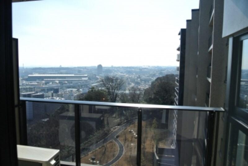 「BrilliaCity横浜磯子」の部屋からの景色