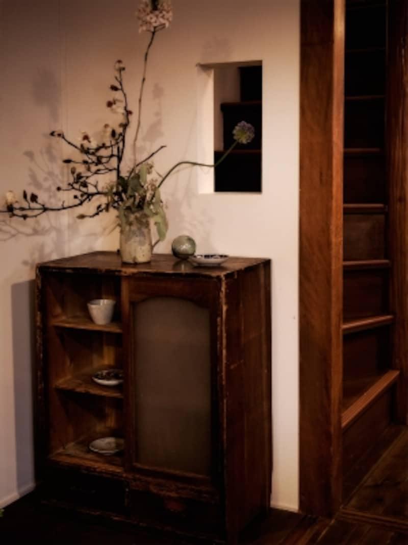 和室を改装して造られたカフェ
