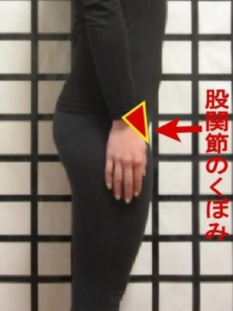 股関節のくぼみ、気にしたことはありますか?
