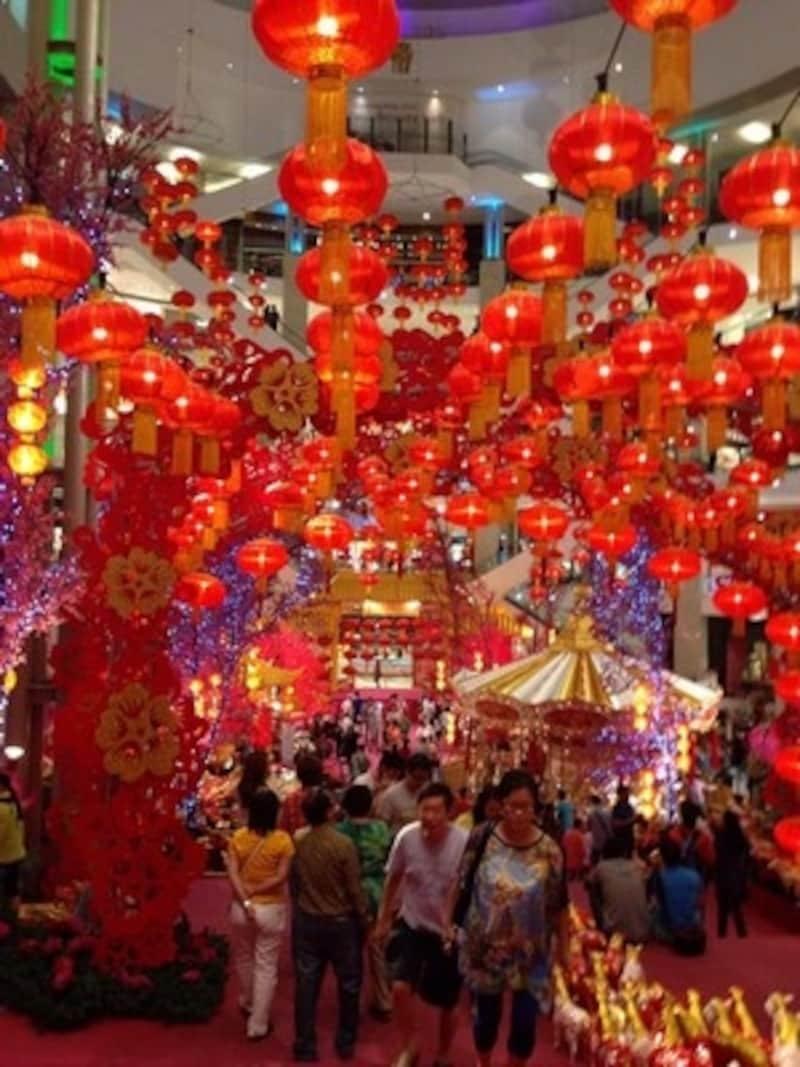 マレーシア,ショッピングモール