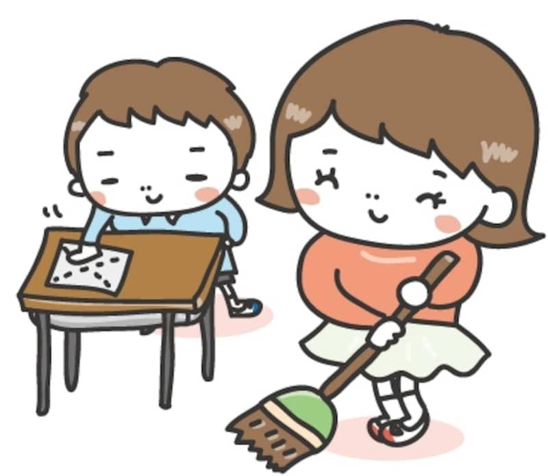 画像 2629 学校生活のかわいい無料イラスト集白黒カラー校舎