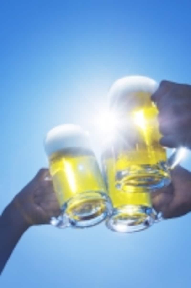 冷えたビールもいいけれど……