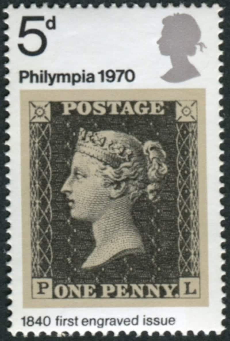 ペニーブラックの切手