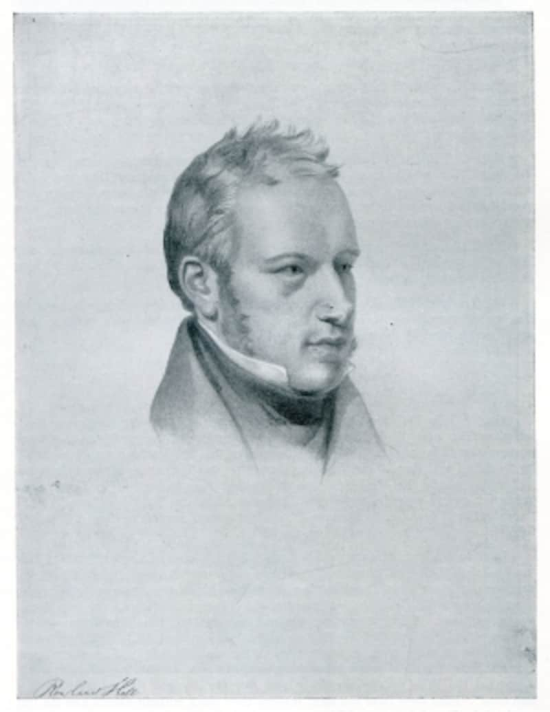 ローランド・ヒルの肖像