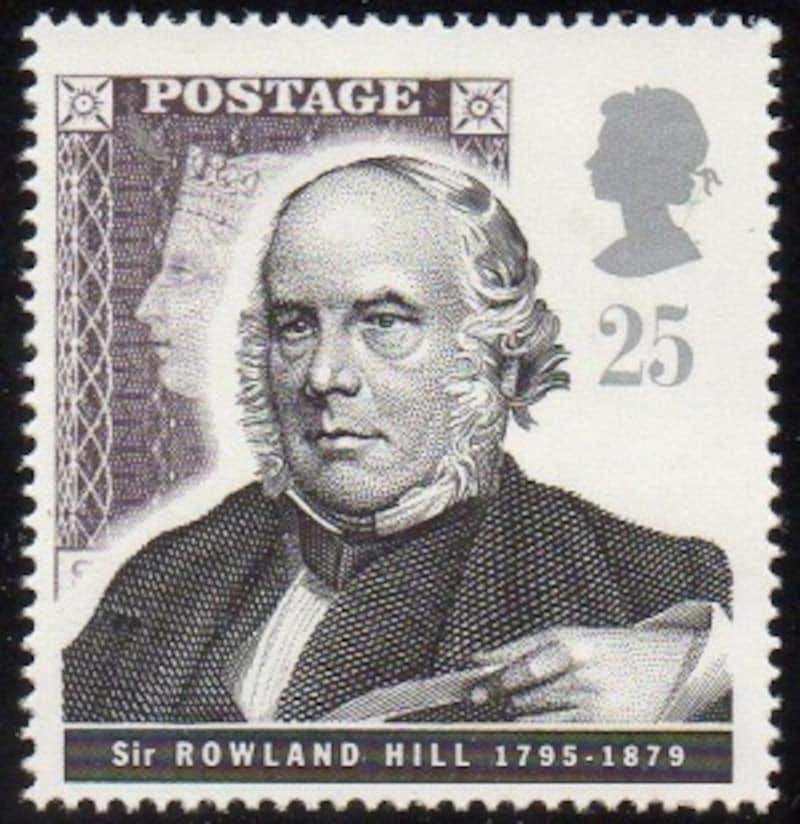 ローランド・ヒルの切手