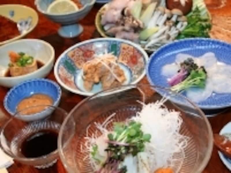 下風呂温泉郷でいただける「鮟鱇」のフルコース。絶品の「湯」と「食」で至福の時を過ごせます