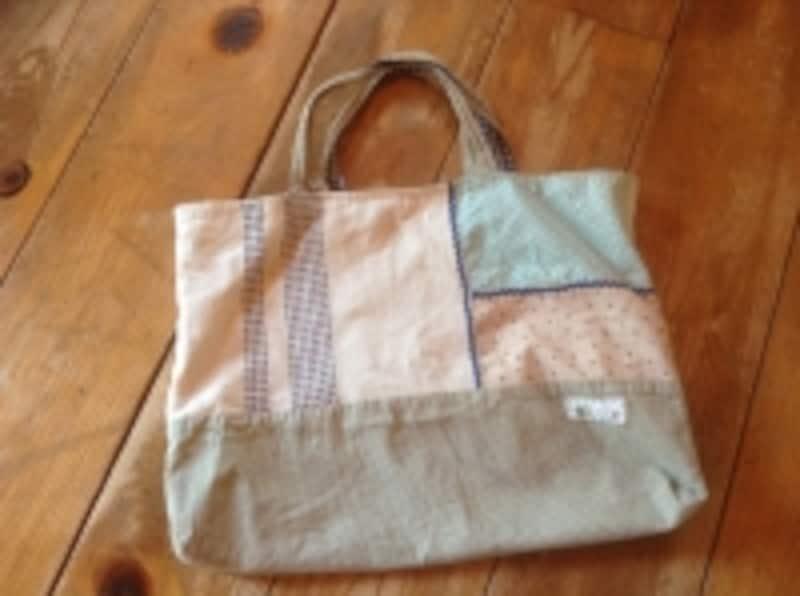 息子が幼稚園のときから使っているバッグ。オークションで買ったもの。