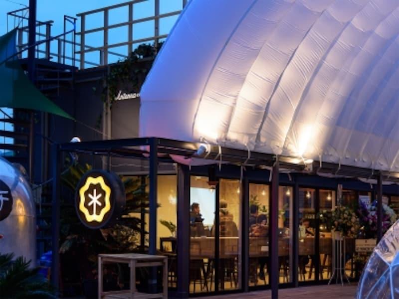 アンテナワイアードカフェの外観