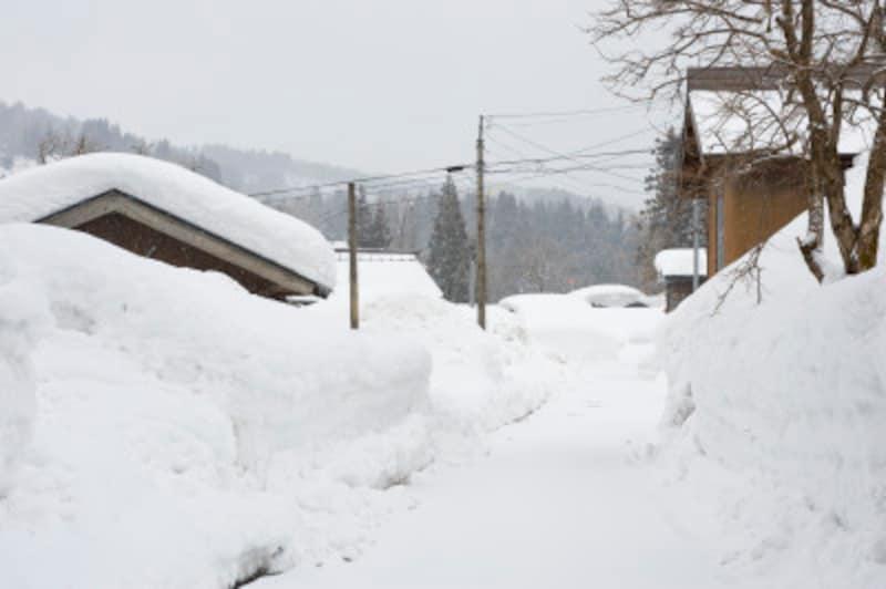 雪かきの効率のいいやり方