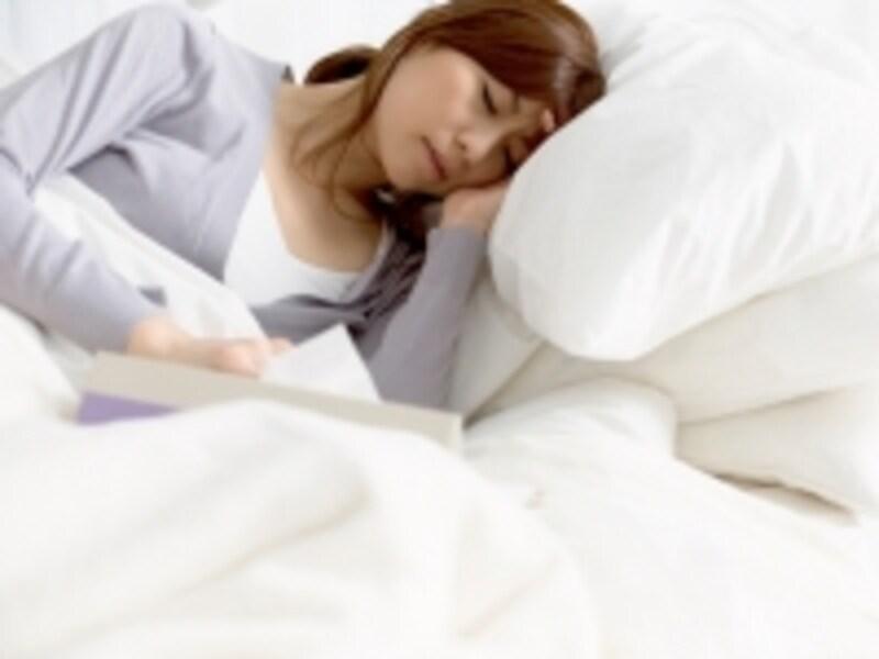就寝前にゆっくり深呼吸を行うと入眠がサポートされますよ!