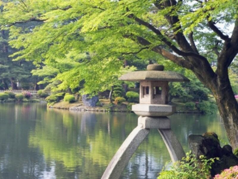 日本三名園のひとつ兼六園もゆったり観光