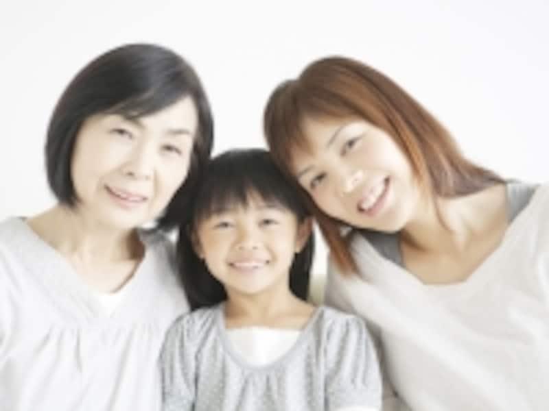 女性3世代