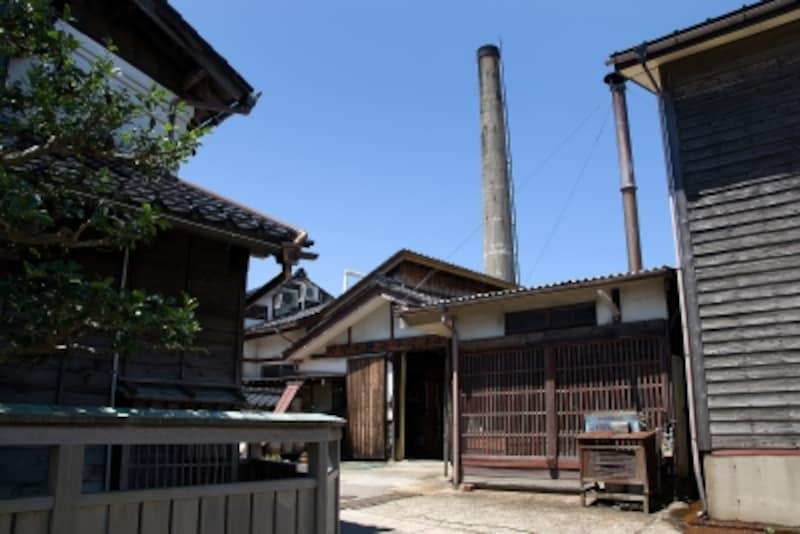 大野港とヤマト醤油味噌