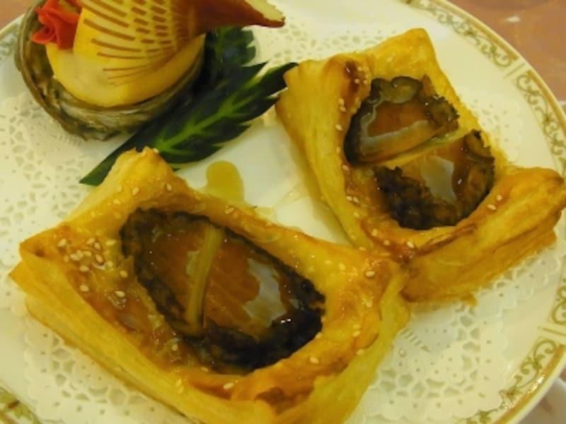 香港式活あわびの焼きパイ