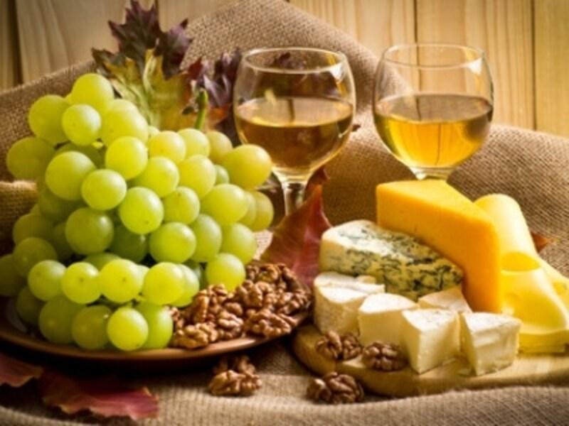 スイスワインとチーズ