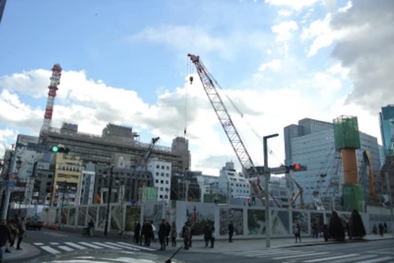 旧松坂屋跡地の建替えプロジェクト