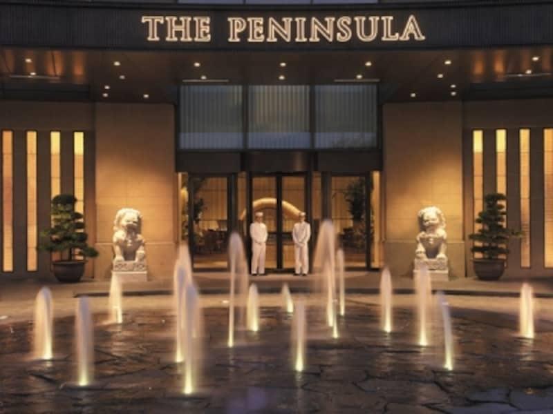 ザ・ペニンシュラ東京エントランス