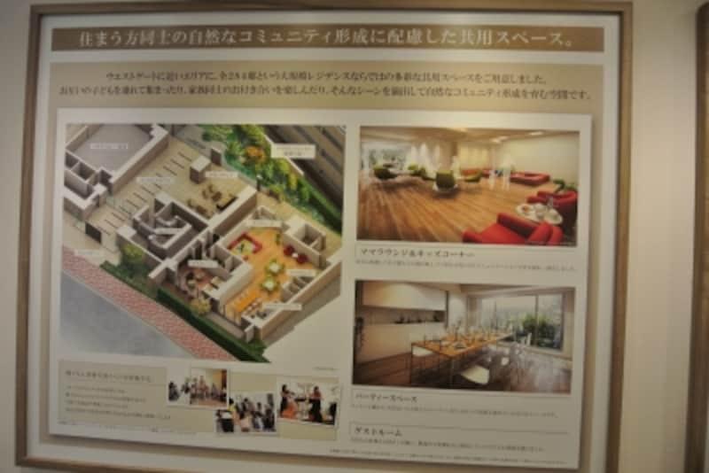 「オーベルグランディオ吉祥寺II」のモデルルームのプレゼンテーション
