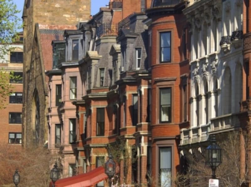 ボストンの街並