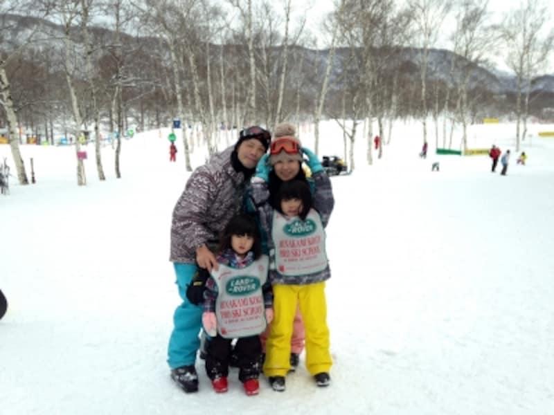大人用と子ども用のスキーグッズ(ウエア・手袋・帽子・スキー&スノボグッズなど)を全てレンタル可能です