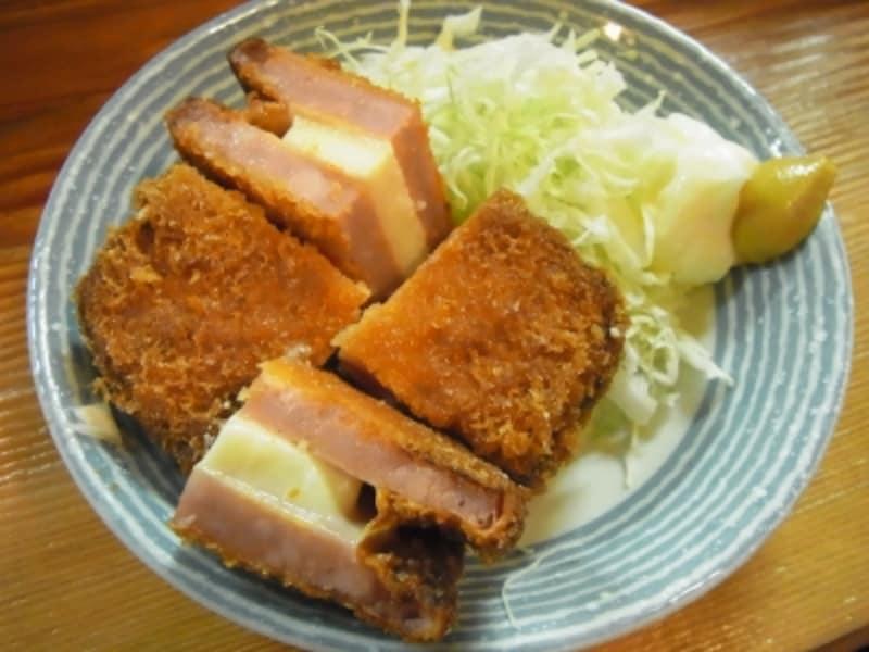 ハムチーズカツ(380円)