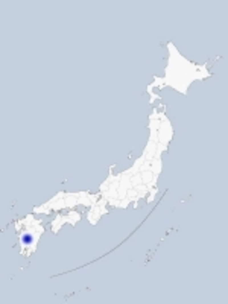 肥薩おれんじ鉄道の地図