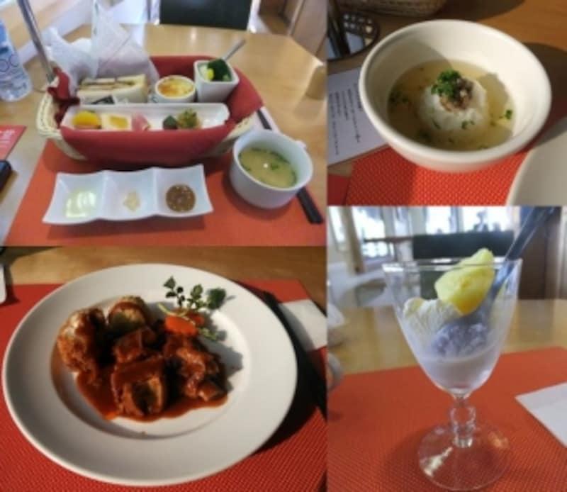 観光列車「おれんじ食堂」でガイドが食したおいしい料理
