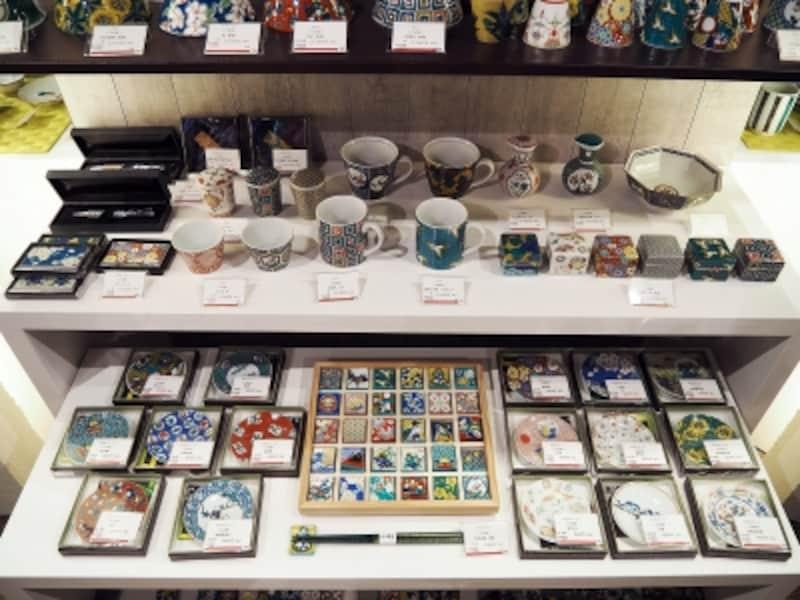 伝統工芸品コーナー