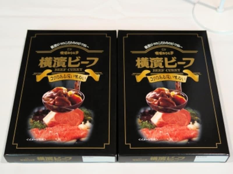 フェリックスジャパン「横濱ビーフレトルトカレー」(200g572円)
