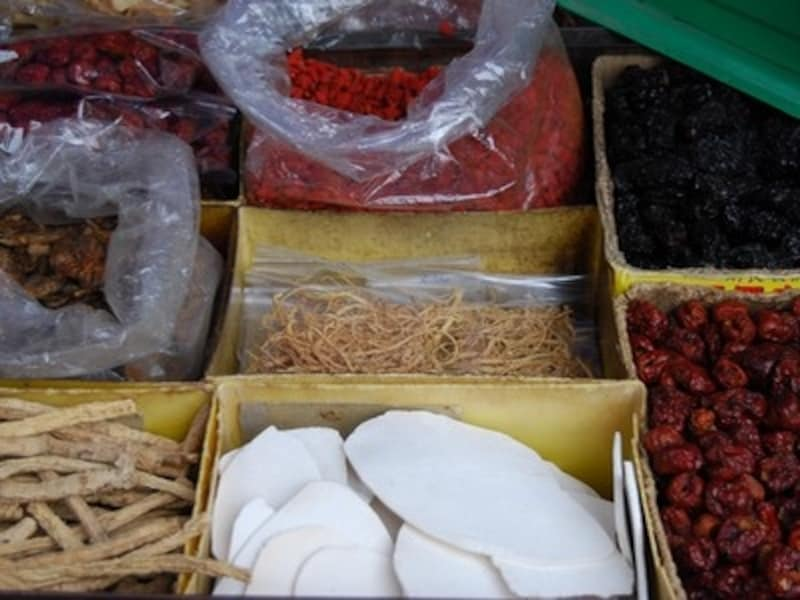 マレーシアの漢方売り