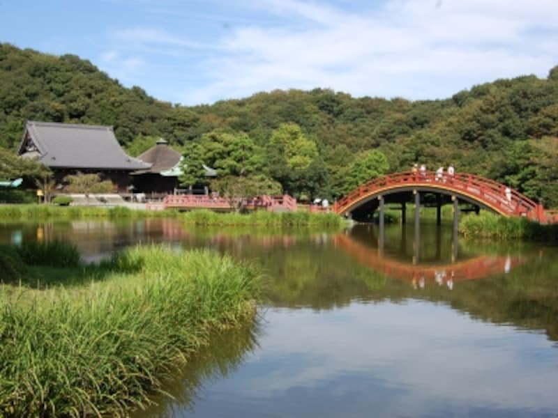「称名寺」の浄土庭園
