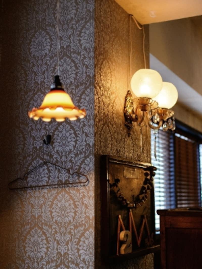 壁紙+照明の表情