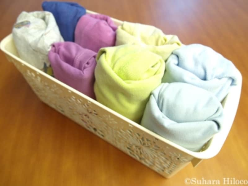 たたむ服のしまい方