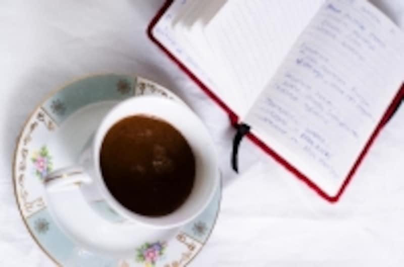 手帳に書いて毎朝読むだけ!